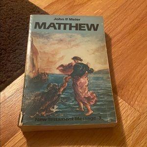 """🧡 """"Matthew"""" by John Meier"""